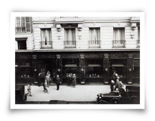 1899년 오픈한 프랑스 파리뤼드라뻬 13번지의 까르띠에 부티크(현재는 맨션). [Cartier Archives © Cartier]