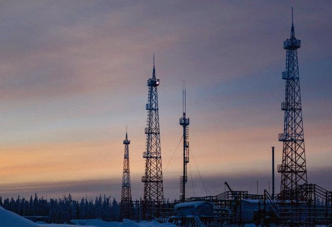 러시아 사하공화국의 차얀다 천연가스전. [Gazprom]