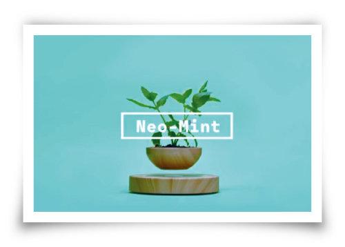 WGSN이 선정한 2020년 올해의 색 '네오 민트'. [유튜브 캡처]