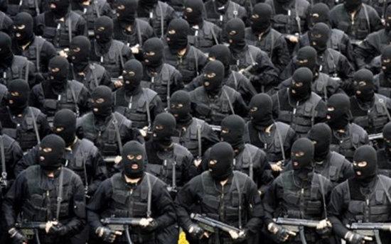 이란 혁명수비대의 해외공작을 담당하는 알 쿠드스 대원들. [iranbriefing. net]