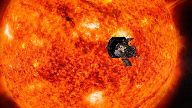 파커 태양탐사선. [사진제공=NASA]