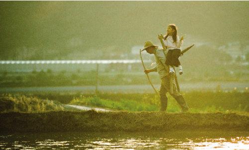 아버지전에 전시된 사진 '산(山)', 김용석. [사진 제공 · 하나님의 교회]