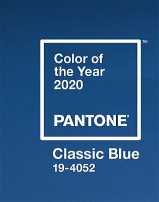 2020년 '올해의 컬러'로 선정된 클래식블루.