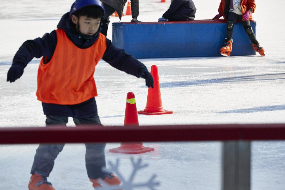 [잘 타고 싶어요!]서울 시청광장 스케이트장