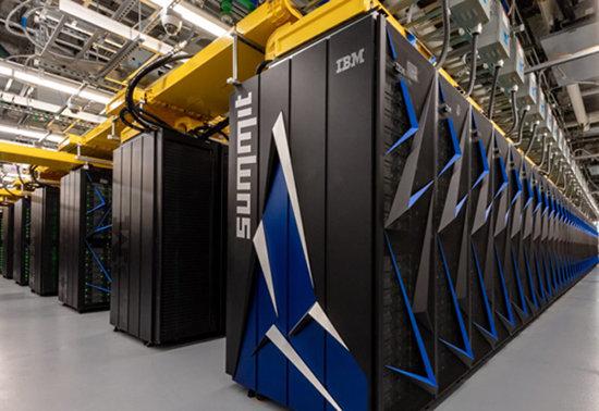슈퍼컴퓨터 IBM서밋 [네이처]