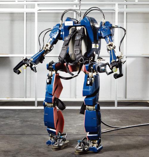현대·기아자동차의 웨어러블 로봇. [사진 제공 · 현대자동차그룹]