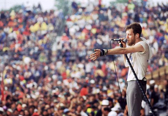 1994년 우드스탁 페스티벌 공연사진 [GettyImages]