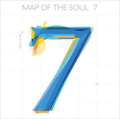 'MAP OF THE SOUL : 7 앨범. [빅히트엔터테인먼트]
