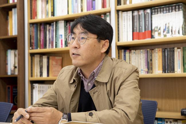 임병철 한국교원대 교수. [청주=지호영 기자]