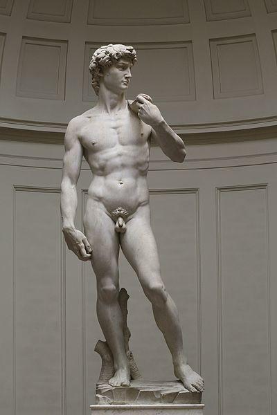 피렌체 공화국의 자부심이 표현된 미켈란젤로의