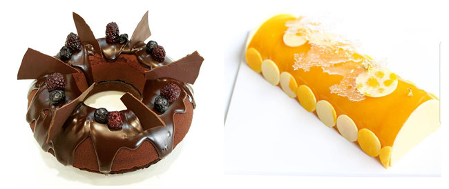 김예분이 만든 케이크와 초콜릿. 그는 초콜릿 공예 대회에서 금상을 수상한 바 있다. [김예분 인스타그램]