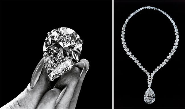 까르띠에 버튼-테일러 다이아몬드. [Getty Images/Timelife, Archives Cartier © Cartier]