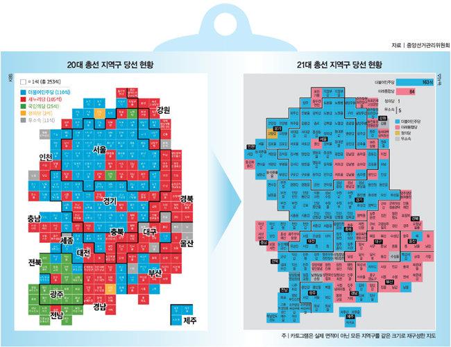 역대급 총선 결과, 법안 단독 통과도 '可'
