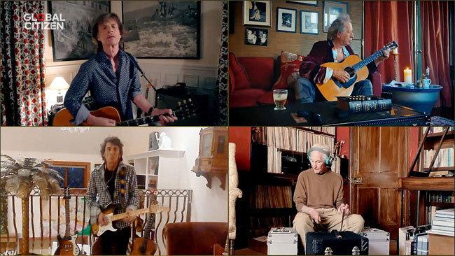 각자의 집에서 연주하고 노래한