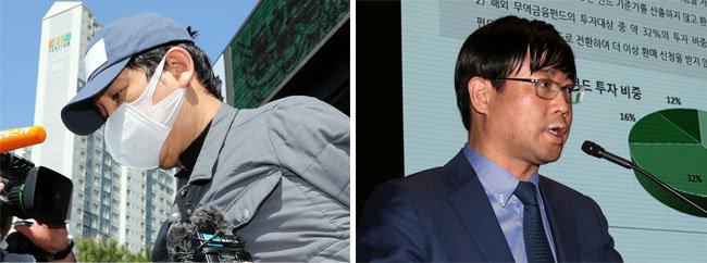 김봉현(왼쪽), 이종필. [뉴시스, 뉴스1]