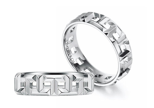 이태오와 여다경의  결혼반지인 티파니  'Tiffany T' 켈렉션의  트루(True)링.