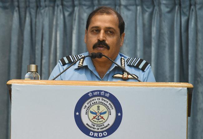 라케시 싱 바두리아 인도 공군참모총장. [GettyImages]