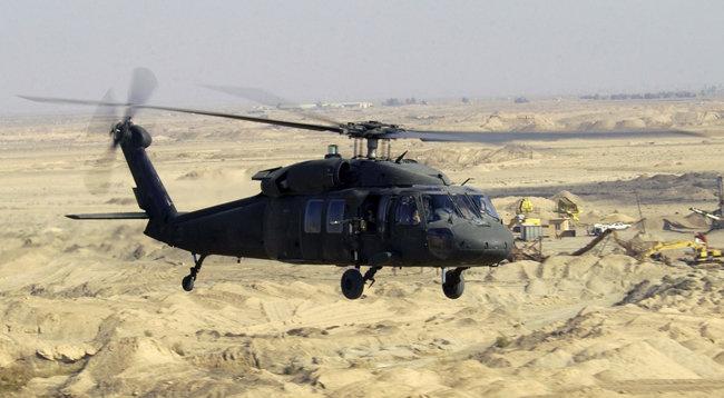 UH-60P 블랙호크 헬기. [미국연방정부 The Federal Government of US 제공]
