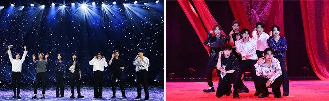 6월 14일 진행된 방탄소년단의 온라인 콘서트 '방방콘 The Live'.   [빅히트 엔터테인먼트]