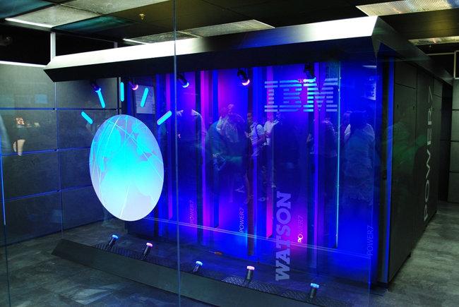 IBM이 만든 의료 인공지능 왓슨.[위키피디아]