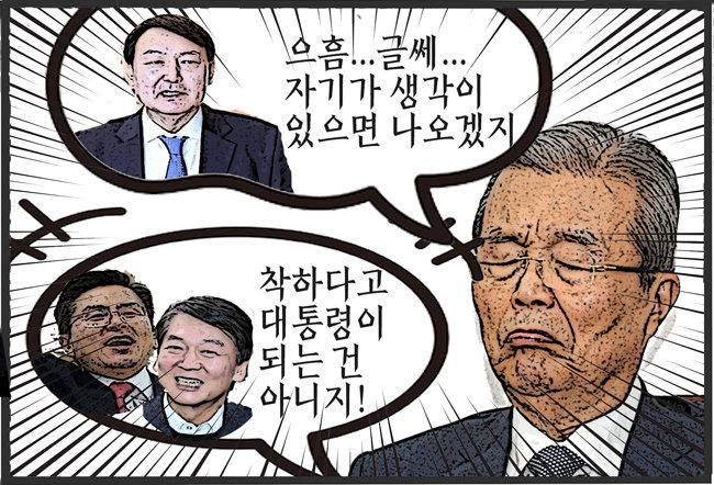김종인이 픽한 차기 대선 주자