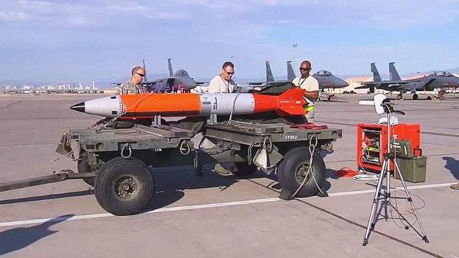 미국의 저위력 핵무기 B61-12. [Sandia National Lab]