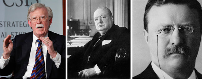 볼턴, 처칠, 루스벨트.