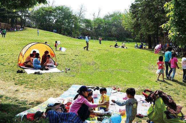 서울어린이대공원.