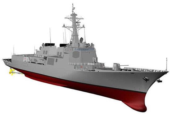 우리 해군은 한국형 차기 구축함(KDDX) 사업을 진행하고 있다. [대한민국 방위 사업청]