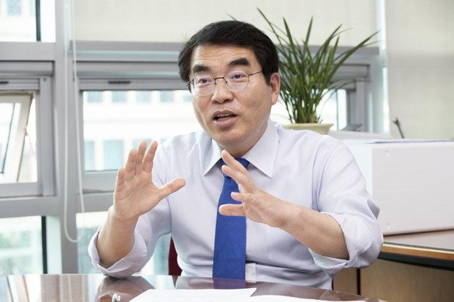 4월 21대 총선에서 당선한 더불어민주당 양기대 의원. [지호영 기자]