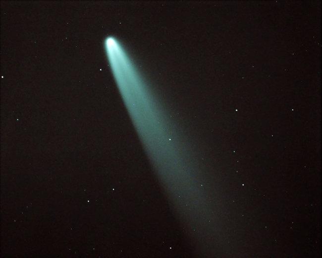 7월 23일 지구에 가장 가깝게 접근하는 니오와이즈 혜성. [위키피디아 제공]