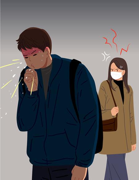 마스크를 쓰지 않으면 마스크를 썼을 때보다 코로나 19 감염 가능성이 5배 이상 높게 나타나는 것으로 알려졌다. [GETTYIMAGES]