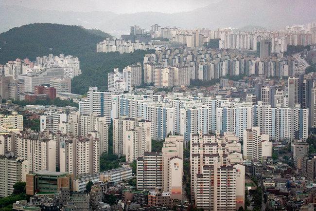 서울의 한 아파트촌. [뉴스1]
