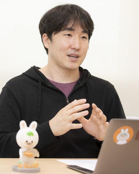 당근마켓 김용현 공동대표. [박해윤 기자]