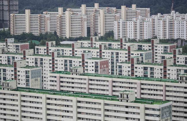 서울 아파트 단지 모습. [뉴시스]