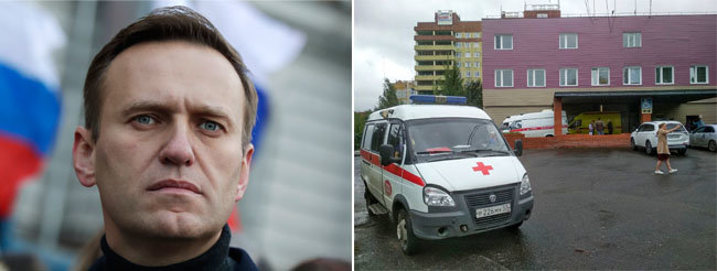 블라디미르 푸틴 러시아 대통령의 정적인 알렉세이 나발니가 8월 20일 독극물에 중독되는 사건이 발생했다. [뉴시스]