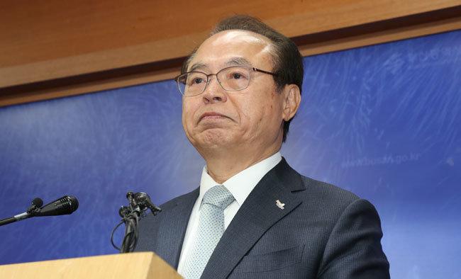 5월 23일 오거돈 전 부산시장이 여성 공무원 성추행 사실을 시인하고 사퇴 의사를 밝혔다. [동아DB]
