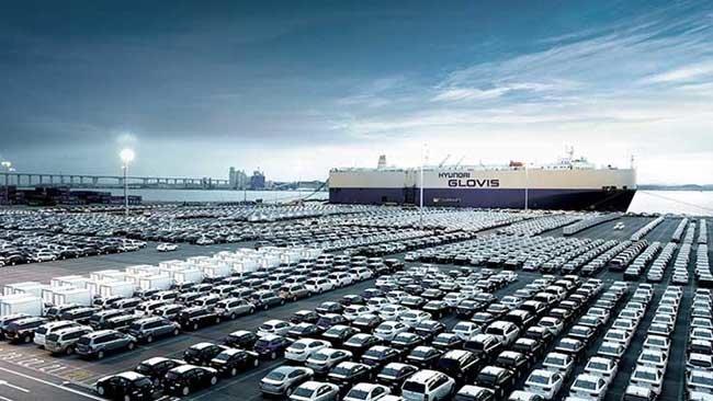 7월 현대글로비스는 5000억 규모의 유럽 완성차 수출 운송 계약을 따냈다.  [사진출처·현대글로비스 홈페이지]