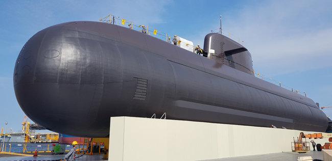 도산안창호 잠수함. [뉴시스]