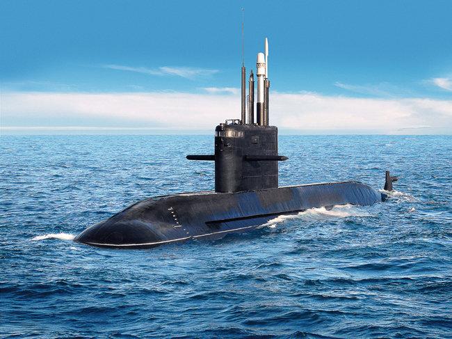 러시아 Amur 1650 잠수함. [러시아의 개방형 주식회사 United Shipbuilding Corporation]