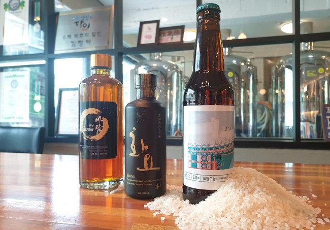바네하임에서 제조하는 익산의 쌀을 넣은 도담도담 맥주.
