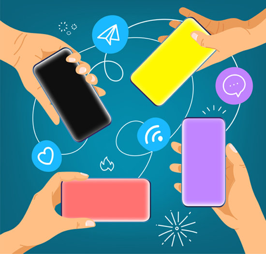 애프터 코로나 시대에는 스마트폰을 활용한 생활이 표준이 될 가능성이 높다.