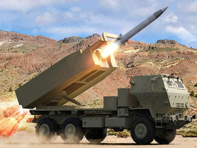 차세대 전술 탄도 미사일 체계, PrSM(Precision Strike Missile). [raytheon company]