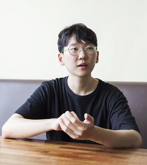 서울대 자유전공학부 20학번 송영준 씨. [김도균 기자]