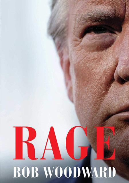 워싱턴포스트 밥 우드워드 편집국장의 회고록 '격노(Rage)'. [Simon & Schuster 출판사]