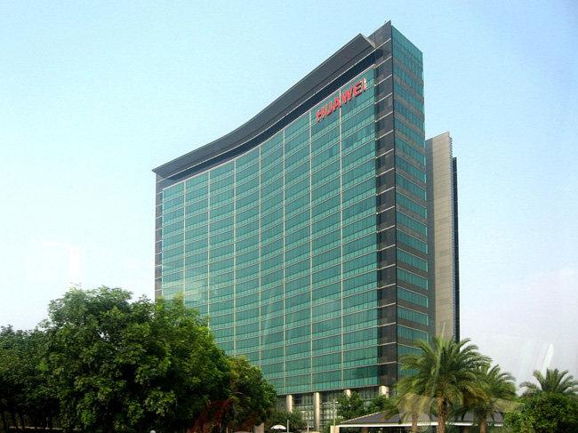 중국 선전에 있는 세계 최대 통신장비업체인 화웨이 본사의 모습. [위키피디아]