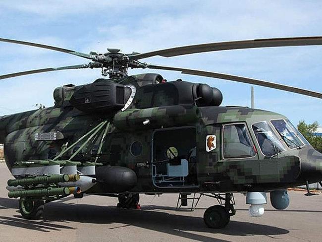러시아의 수출용 헬기 버전인 Mi-171Sh. [The Union of Machine Builders of Russia 제공]