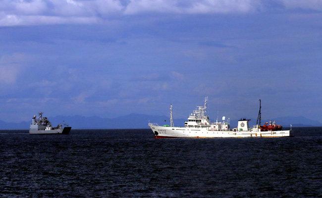 9월21일 낮 해양수산부 서해어업관리단 소속 어업지도선 '무궁화 10호'의 1등 항해사인 이모 서기가 서해 소연평도 남방 2km 해상에서 실종됐다. 사진은 소연평도. [동아db]