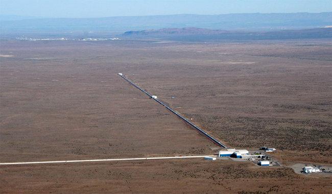 1992년 미국에 지어진 중력파 관측소 '라이고'(LIGO). [LIGO과학협력단 제공]