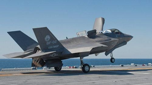 한국형 경항모에 탑재될 F-35B. [동아DB]